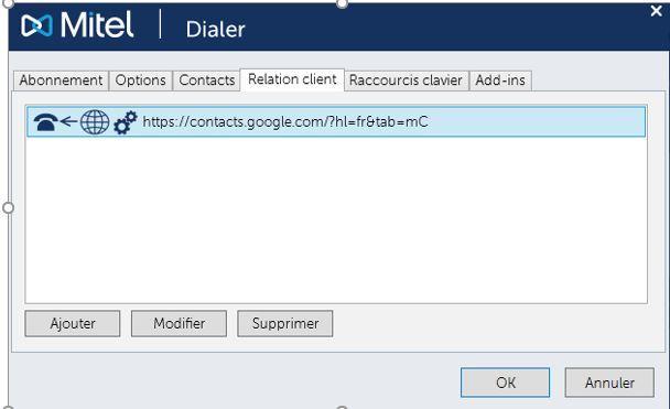 Intégration CRM & UC simplifié avec le dialer R.21